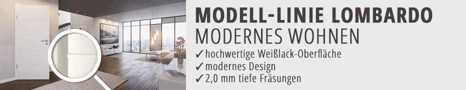 weiße Designtüren, Weißlack-Innentüren, dezente Designtüren, modern, günstig