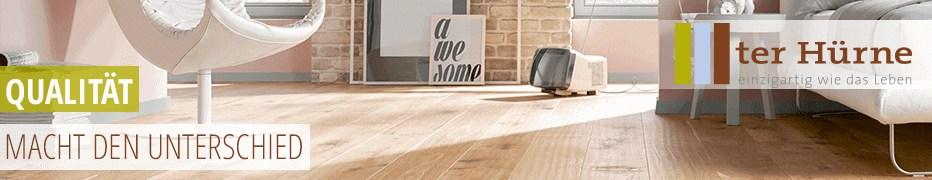 ter Hürne, Vinylboden, Laminat, Parkett, nachhaltig und wohngesund