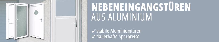 Nebeneingangstüren, preiswerte Nebeneingangstür aus Aluminium, dauerhafte Sparpreise
