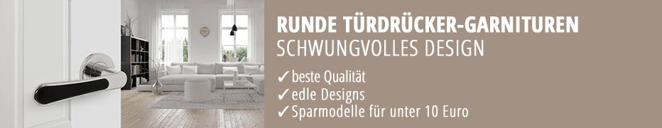 runde Türdrücker-Garnituren, Türklinken, hochwertig, funktional