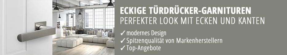eckige Türdrücker-Garnituren, Türklinken, hochwertig, funktional, modern