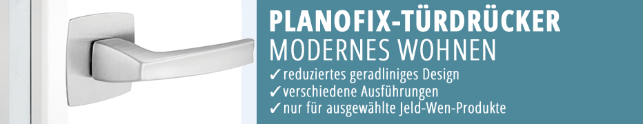 Türdrücker Planofix, Türklinke, Türdrücker-Garnitur, moderne Türdrücker, hochwertig