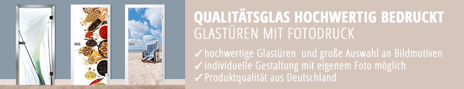 Ganzglas-Innentüren, mit Fotomotiv, Bildmotiv, Zimmertüren, günstig
