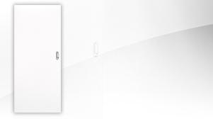 Schiebetür in Weißlack 9010 von Jeld-Wen