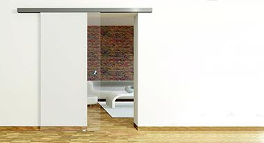 Schiebetür-System 45 für Ganzglastüren