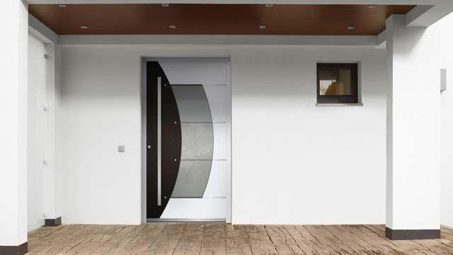 Milieubild der Haustür Modell Rosa von Interio ab 2.783,00 €*