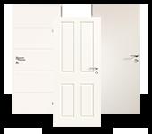 Weißlack-Komplettsets Innentüren
