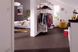 dunkles Kork, Bodenbelag, Fußboden