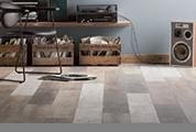 trendiges Laminat, Bodenbelag, Fußboden
