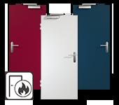 HPL Brandschutztüren