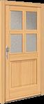 Holz Haustür HT 1129 von Interio