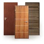 Echtholzfurnierte Türen aus Edelhölzern