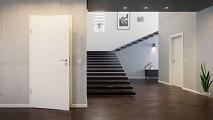 Jeld-Wen, billige Lombardo Innentüren, Modell, Modelllinie, Linie, Zimmertür, Streifen, Rillen, längs, oben nach unten