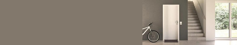 Weiße CPL Wohnungseingangstüren