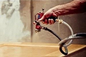 Holzlackierung für Türen