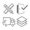 Icon für häufige Fragen zum Kauf neuer Türen
