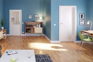 Innentüren im Wohnzimmer