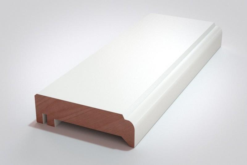 Oberfläche: Weißlack