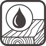 geöltes Holz Icon