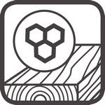 gewachstes Holz Icon