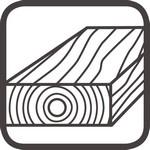unbehandeltes Holz Icon