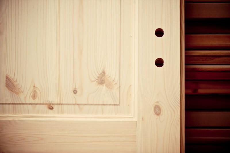 Tür Rohling aus Kiefernholz
