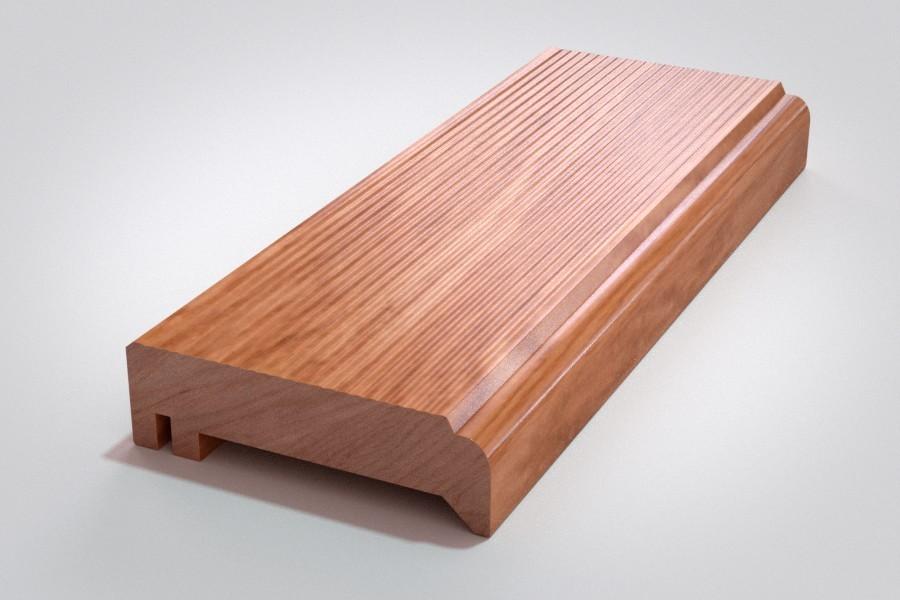 Gebürstete Holz-Oberfläche