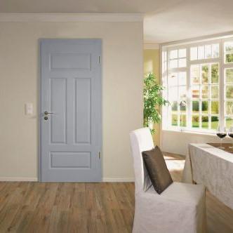 Wohnzimmer mit Provence Tür in Kitt